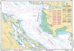 Canadian Nautical Chart 3463 - Strait of Georgia, Southern Portion