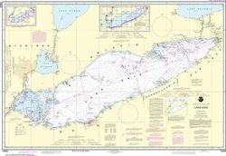 Nautical Chart 14820 - Lake Erie