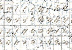 Dayville Area 1:24K USGS Topo Maps