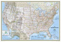 Framed Map Of The Us Framed United States Map