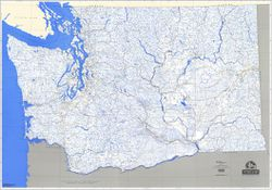 Stream Map of Washington State