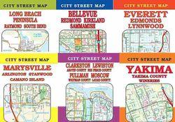 City Street Maps of Cities in Washington