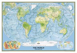 World Ocean Floor Map (Large) by National Geographic