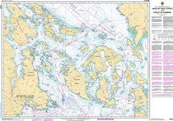 Canadian Nautical Chart 3462 - Juan De Fuca, San Juan Islands