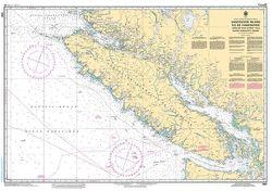 Canadian Nautical Chart 3001 - Vancouver Island