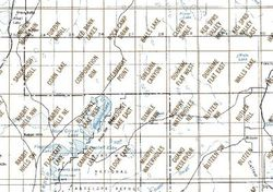 Bluejoint Lake Area 1:24K USGS Topo Maps