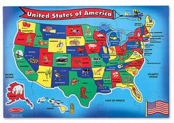 United States Floor Puzzle by Melissa & Doug