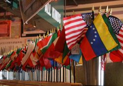 Mini Flags A - L - Choose from the List
