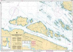 Canadian Nautical Chart 3549 - Queen Charlotte Strait, Western Portion