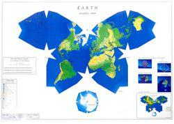 Waterman Butterfly World Map