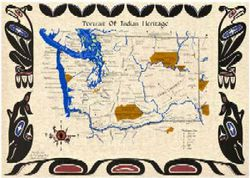 Portrait of Indian Heritage: WA State