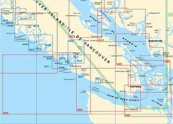 Strait of Juan de Fuca & San Juan Island Charts