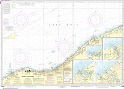 Nautical Chart 14829 (Lake Erie) Geneva to Lorain