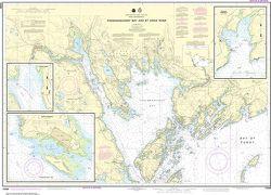 Nautical Chart 13398 Passamaquoddy Bay, St. Croix River