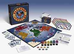 Passport to Culture Geography Board Game