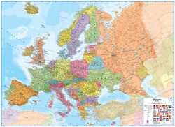 Europe Wall Map by Maps International