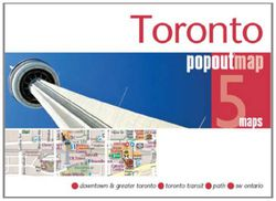 Toronto Popout Map