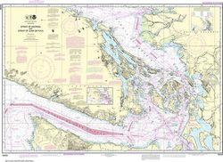 Nautical Chart 18400 - Straits of Georgia & Juan de Fuca