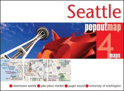 Seattle Popout Map
