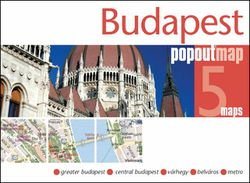 Budapest Popout Map