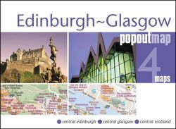 Edinburgh Glasgow Popout Map