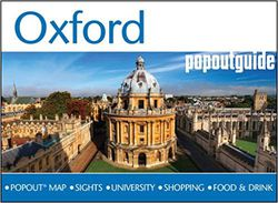 Oxford Popout Map