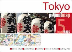 Tokyo Popout Map
