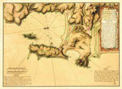 Antique Map of Chile 1792 - Concepcion Bay