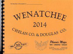 Wenatchee Chelan Douglas County Road Atlas