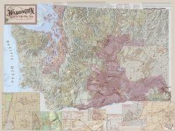 Washington Wine Region Map