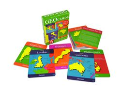 World Geography Cards