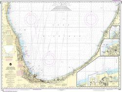 Nautical Chart 14905 (Lake Michigan) Waukegan to South Haven