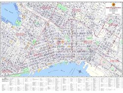Downtown Seattle Business District Map - Seattle CBD