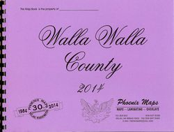 Walla Walla County Road Atlas