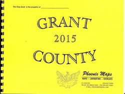 Grant County Road Atlas by Phoenix Maps