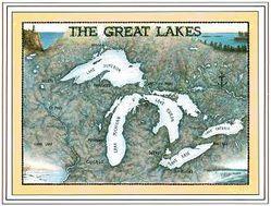 Great Lakes Art Print & Poster