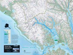 Glacier Bay National Park Raised Relief Map
