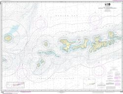 Nautical Chart 16460 - Igitkin to Semisopochnoi Island, Aleutians