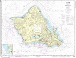 Nautical Chart 19357 - O'ahu