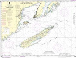 Nautical Chart 14968 (Lake Superior) Grand Portage Bay to Shesbeeb Pt.