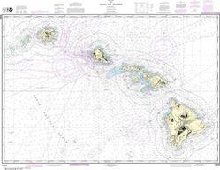 Nautical Chart 19004 - Hawai'ian Islands