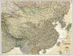 China Wall Map - Executive Series by National Geographic