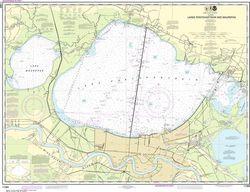 Nautical Chart 11369 Lake Pontchartrain & New Orleans