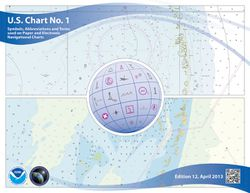 Nautical Chart Number 1 - U.S.