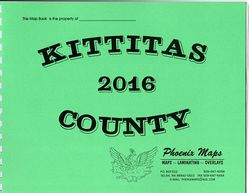 Kittitas County Road Atlas by Phoenix Maps