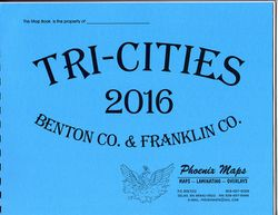 Tri Cities, Benton & Franklin County Road Atlas