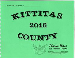 Kittitas County Road Atlas by Phoenix Maps