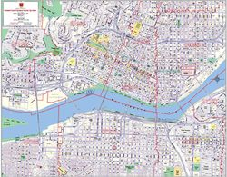 Portland Downtown ZIP Code Business District Map