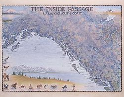 The Inside Passage, Alaska Art Print & Poster