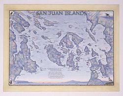San Juan Islands Art Print & Poster
